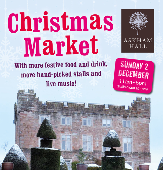 Askham Hall Christmas Market 2018