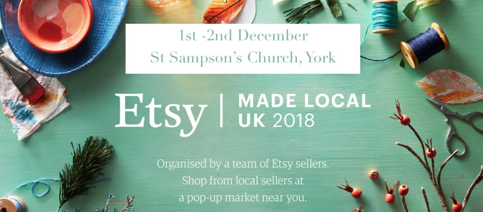 Etsy Made Local, York 2018