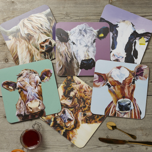 Country Kitchen Melamine Placemats set of Six