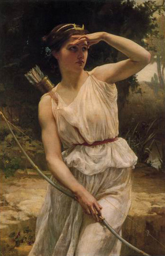 Diana Hunting,   Guillaume Seignac (1870-1924)