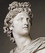Apollo, Greek God Bust