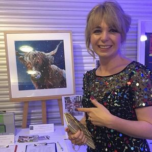 Lauren Highland Cow Award Dinner