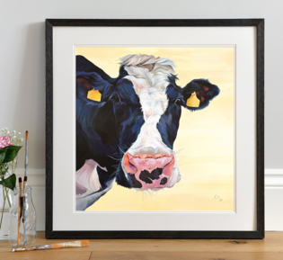 'Freda' Curious Dairy Cow by Lauren's Cows