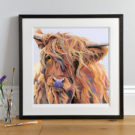 Scarlett Highland Cow by Lauren's Cows