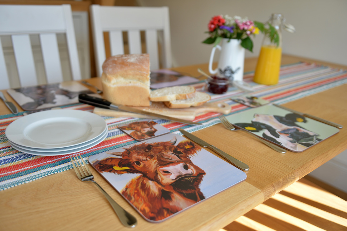 Country Kitchen Placemats by Lauren's Cows
