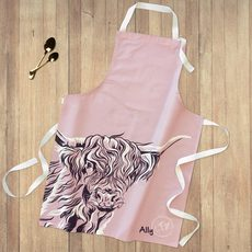 Highland Cow Apron by Lauren's Cows
