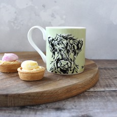 Highland Calf Mug by Lauren Terry