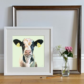 Personalised Art Print by Lauren's Cows