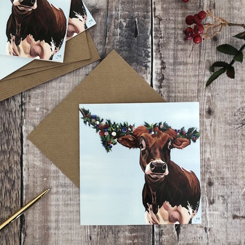 Pack of 4 Texas Christmas Cards