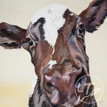 'Ruby' Limited Edition Print by York Artist Lauren Terry
