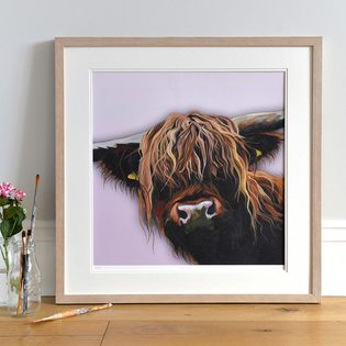 Highland Cow Art by Lauren's Cows