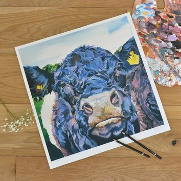 Unmounted Morag limited edition print signed by Lauren Terry