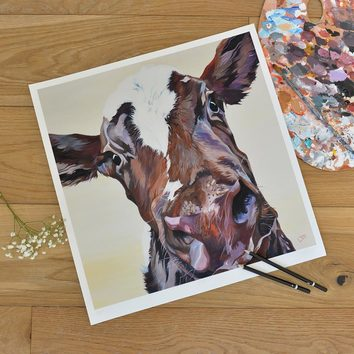 Unmounted Ruby limited edition print by Yorkshire Artist