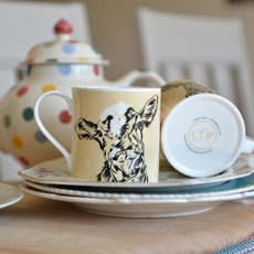 Bone China Cow Mug by Lauren's Cows