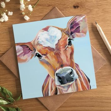 Jersey Cow magnet for the Country Kitchen