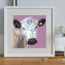 Nosey Cow picture for the home