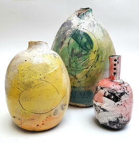 Clay Vessels by Emily Stubbs