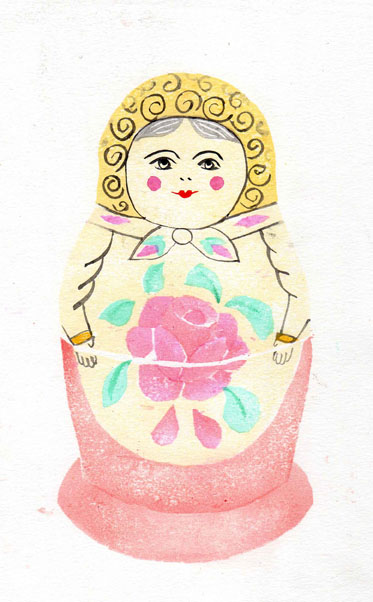'Russian Doll' by Jane Duke