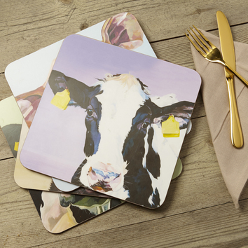 Dairy Cow Place Mats by Lauren's Cows