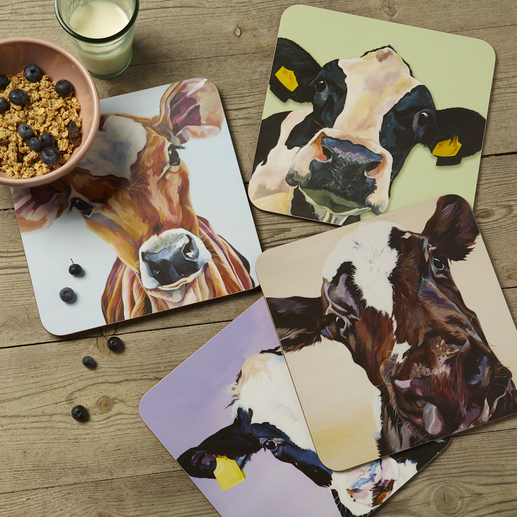 Dairy Cow Place Mats