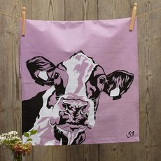 Molly Friesian Cow Tea Towel by Lauren's Cows