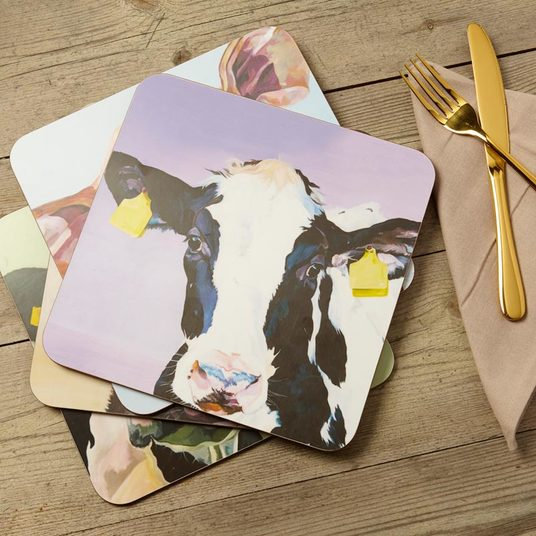 Dairy Cattle Place Settings