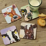 Dairy Cow Coasters