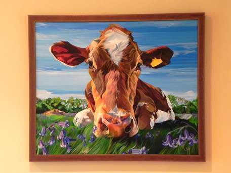 Original Cow Paintings | Commission a painting by Lauren Terry